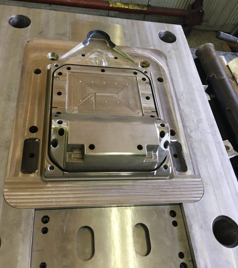 High pressure die casting mould